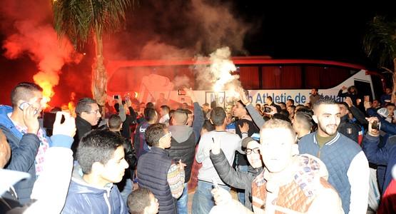 جماهير تطوان تستعد لتنقل تاريخي الى مراكش