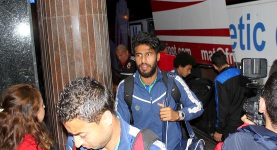 وصول فريق الأهلي المصري إلى مدينة تطوان