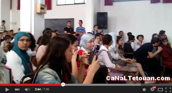فعاليات إختتام الأسبوع الثقافي بثانوية محمد الخامس الإعدادية بتطوان