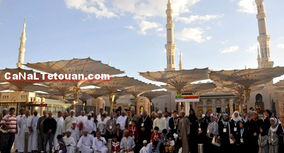 رحلة من تطوان الى السعودية لأداء مناسك العمرة في رمضان (شاهد)