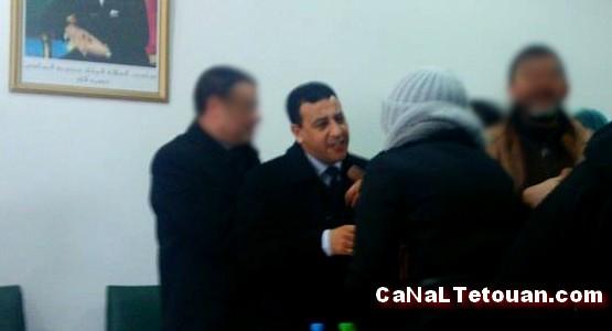 """احتدام الصراع بين أعوان السلطة و قائد المحلقة الإدارية """"بوسافو"""" بتطوان"""