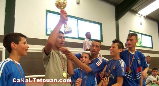 ثانوية سيدي طلحة الإعدادية بتطوان في احتفالية نهائيات الدوري الربيعي لكرة القدم المصغرة