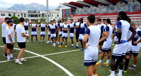 """فريق """"المغرب التطواني"""" يستعد لمواجهة """"سموحة المصري"""" في دوري الأبطال"""