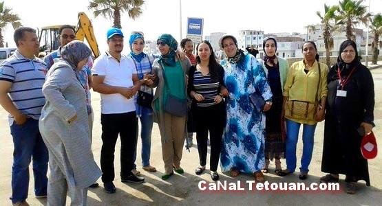 حسن أعلالي رئيس بلدية مرتيل يعطي الانطلاقة الرسمية لأسبوع النظافة !