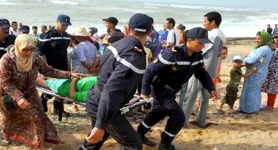 ممرض يلقى مصرعه غرقـــا في شاطئ المضيق !