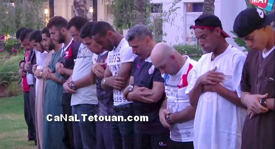 شاهد كواليس مباراة: المغرب التطواني و سموحة المصري (فيديو)
