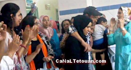 هجوم مجرم بسيف على مستشفى محمد الخامس بطنجة (فيديو)