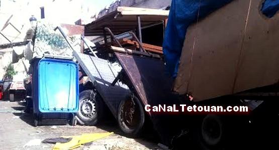 شكاية رفع الضرر على سكان شارع عبداللطيف المدوري بتطوان