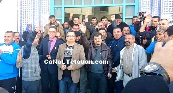 علي أمنيول يقدم لائحته الإنتخابية رسميا للسلطات المحلية بمرتيل