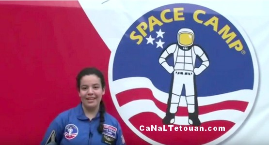 ابنة تطوان يسرى التريوس في ضيافة وكالة الفضاء الدولية NASA (فيديو)