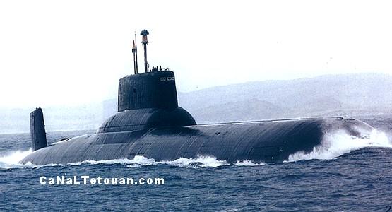 دخول غواصة حربية روسية إلى ميناء سبتة !
