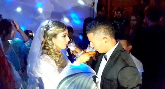 لاعب المغرب التطواني يدخل قفص الزوجية