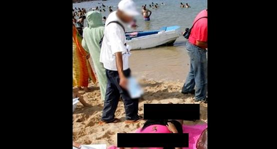 مواد سامة بشواطئ تطوان وشفشاون والسلطات تحذر !!