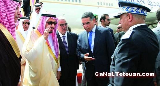مطار طنجة يستقبل ملك السعودية