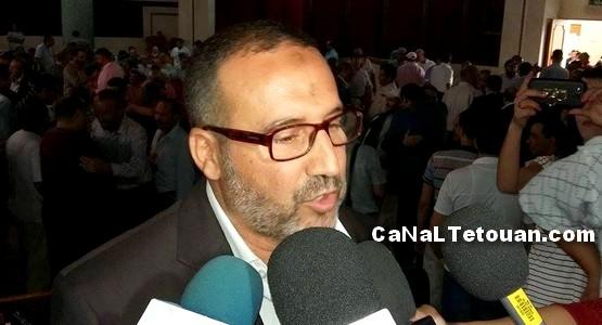 عمدة طنجة: لا يمكن طرد أمانديس لمجرد خروج عشرات السكان إلى الشارع !
