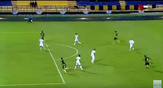 نجم المغرب التطواني السابق ياجور يسجل هدف صاروخي مع فريقه الجديد (فيديو)