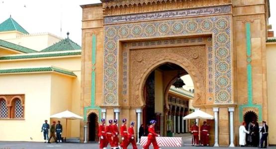 اعتقال مقتحم لقصر الملك محمد السادس