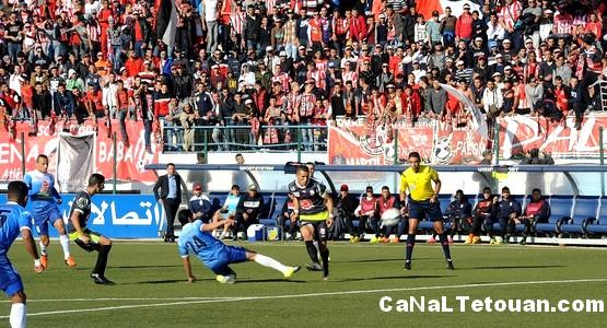 اهداف مبارة شباب الريف الحسيمي 1-2 المغرب التطواني