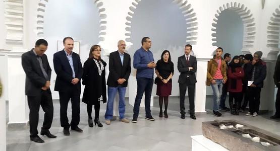 افتتاح معرض الفنانة الاسبانية بمركز الفن الحديث بتطوان