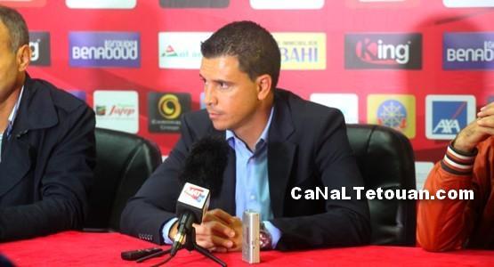 لوبيرا: لست جبانا لاستقيل من المغرب التطواني