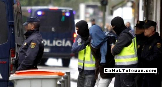 اعتقال مغربيين في إسبانيا