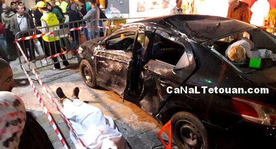 جمعية الشهاب الثقافية بتطوان وحوادث السير (صور)