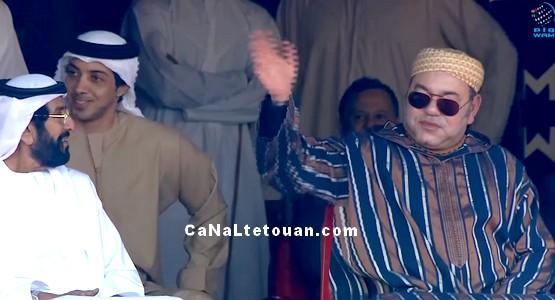 """بترحيب من رئيس الدولة .. ملك المغرب يفتتح """"الأسبوع المغربي التراثي"""" في أبوظبي"""