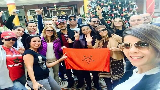 """مصريون يهاجمون الوفد المغربي ويطلقون حملة """"لم عيالك يا مغرب"""""""