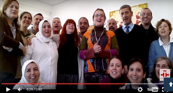 شاهد كيف احتفل معهد سربانطيس بتطوان بعيد المولد (فيديو)