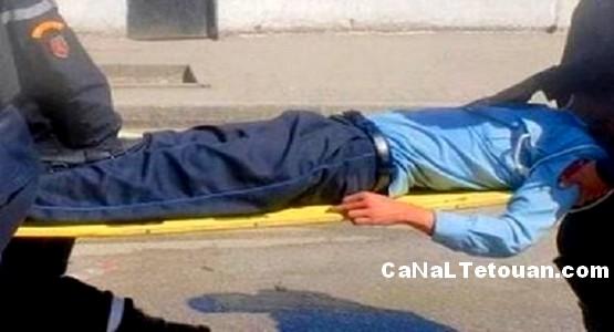وفاة شرطي المرور باحدى المصحات بتطوان !