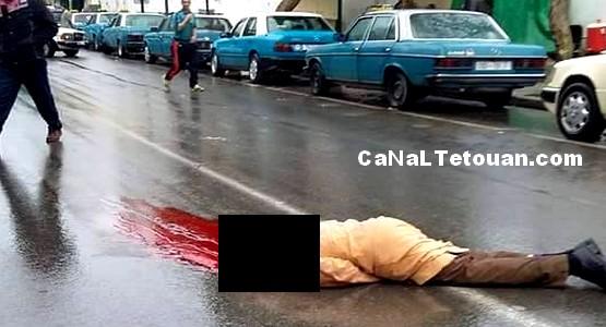 مصرع شخص في حادثة سير مميتة بتطوان (صور)