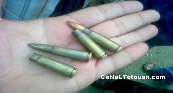 العثور على 15 رصاصة بحي السكنى والتعمير بتطوان