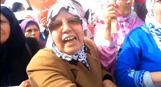 أمهات الأساتذة المتدربين يخاطبن بن كيران (فيديو)