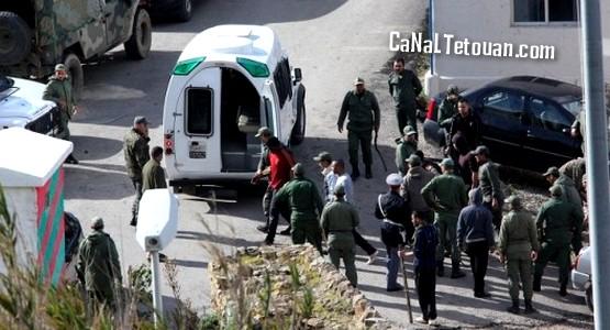 اعتقال شاب مغربي بسبتة حاول إدخال أسلحة متطورة وخطيرة