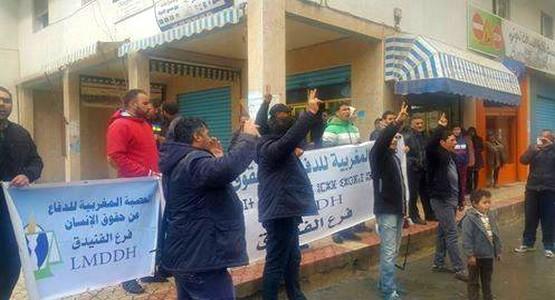 العصبة المغربية للدفاع على حقوق الانسان تطالب برحيل قائد المقاطعة الثانية بالفنيدق