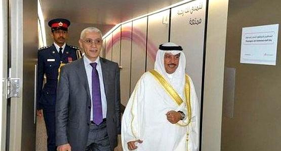 رشيد الطالبي العلمي يحل بدولة البحرين !
