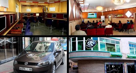 مؤسسة بوراس بتطوان … تكنولوجيا عالية في تعليم السياقة وقانون السير (شاهد الصور)