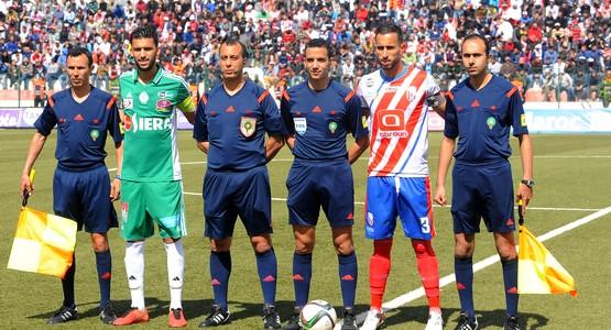 فريق المغرب التطواني ينهزم أمام الرجاء البيضاوي في مباراة مثيرة