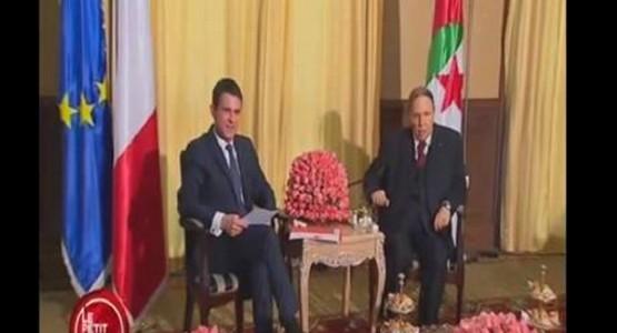 برنامج فرنسي يسخر من الاعلام الجزائري والحالة المزرية لبوتفليقة أثناء استقباله الوزير الفرنسي (فيديو)