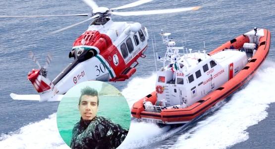 مروحيات وبواخر للعثور على جثة شاب مغربي اختفى في عرض البحر بايطاليا