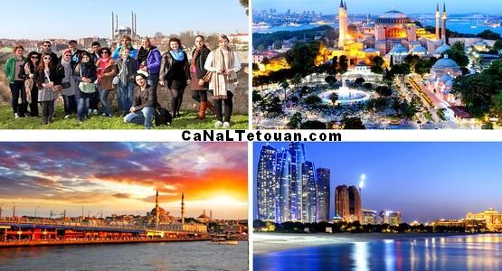 وكالة الرحموني بتطوان تنظم رحلة ممتعة الى إسطانبول التركية (الثمن + البرنامج)