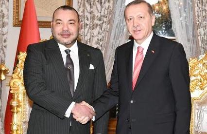 الملك محمد السادس يوجه رسالة إلى رجب طيب أردوغان