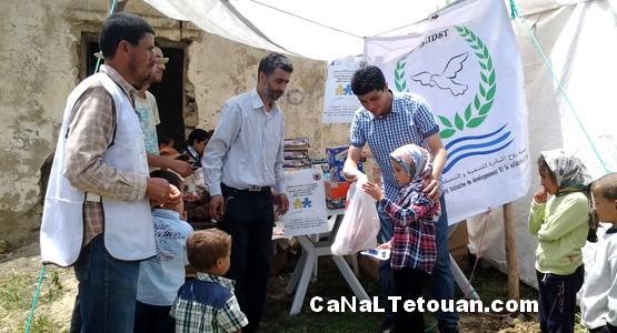حملة طبية مجانية متعددة التخصصات بدوار خندق عشيش جماعة بني يدر بتطوان