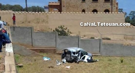 حادثة سير خطيرة بمدخل جماعة أمسا (صور)
