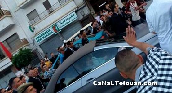 طنجة: جنون ساكنة منطقة بني مكادة الشعبية بعد زيارة الملك بسيارته دون بروتوكول (فيديو)