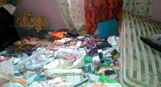 """صادم .. هكذا وجدت عائلة مغربية مقيمة بإسبانيا """"فِيلاَتهَا"""" بمرتيل !! (صور)"""