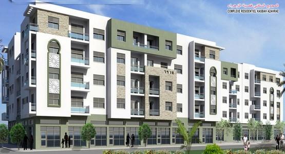 عروض هامة لإقتناء السكن المتوسط بالمجمع السكني قصبة الزهراء قرب حي الولاية بتطوان