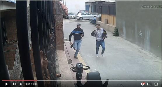 بالفيديو .. شاهد لحظة فرار لصين بعد سرقتهما لمحفظة بها 20 ألف درهم لأحد المواطنين بمرتيل