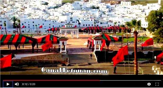 ساحة الفدان الجديد بتطوان جاهزة لاحتضان ذكرى عيد العرش  (شاهد فيديو)