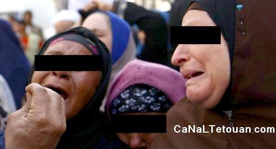بكاء وصراخ في محكمة طنجة بعد اصدار الحكم على 5 أشخاص تربصوا بالملك !